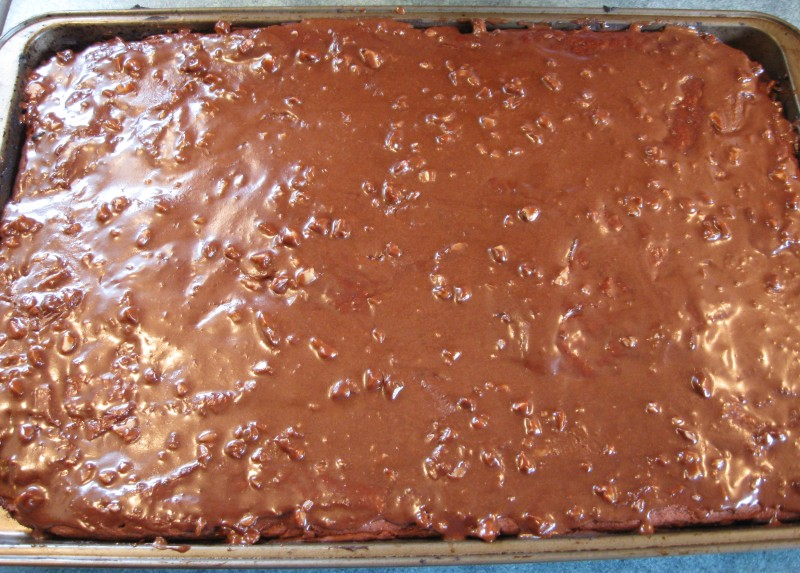 CHOCOLATE SHEET CAKE A RECIPE REVIEW, GLUTEN FREE REVISED « Gluten ...