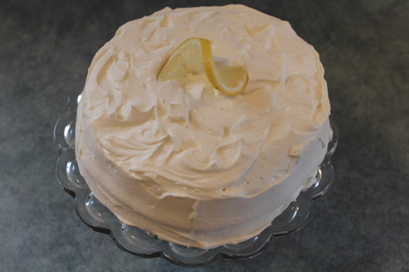 GLUTEN FREE LUSCIOUS LEMON LAYER CAKE « Gluten-Free Delightfully ...