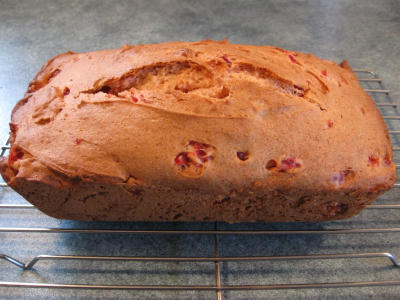 Easy Cherry Cake Loaf