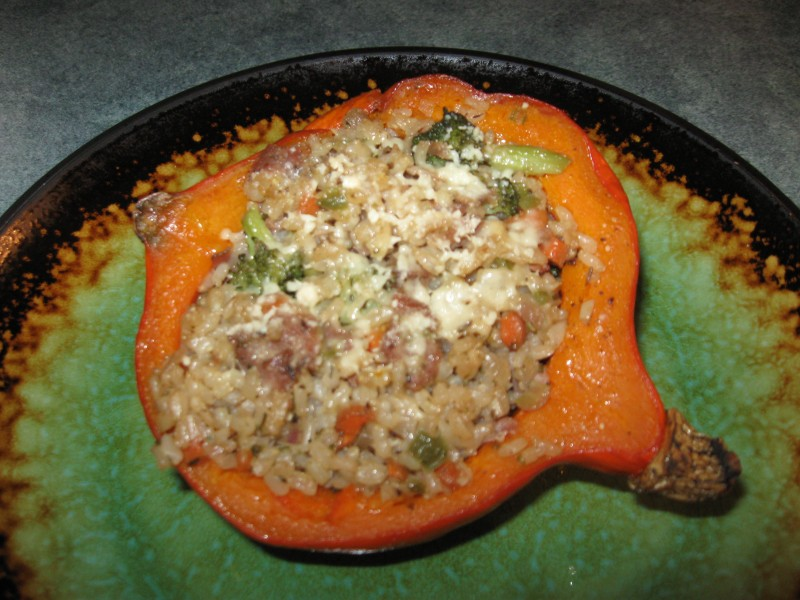 Curry-Stuffed Delicata Squash Recipe — Dishmaps