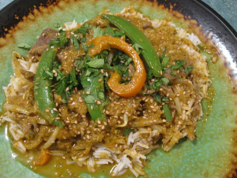 THAI BEEF CURRY « Gluten-Free Delightfully Delicious