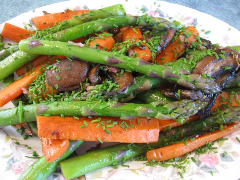Spring Vegetable Saute Recipes — Dishmaps