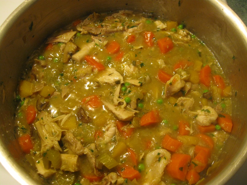 Turkey Stew With Peppers And Mushrooms Recipe — Dishmaps